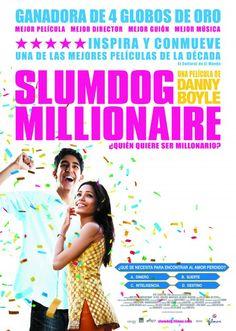 """""""Slumdog millionaire"""" Jamal Malik (Dev Patel) es un adolescente pobre de Bombay que participa en la versión hindú del programa """"¿Quién quiere ser millonario?"""". A punto de conseguir 20 millones de rupias, que es el premio máximo del concurso, el joven es interrogado por la policía, que sospecha que esta haciendo trampas. Pero para cada una de las preguntas, Jamal tiene una respuesta."""