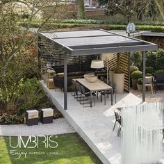Umbris Louvre Roofs Free Standing