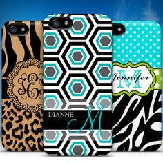 We added several new Monogram case designs to our catalog today including these three. Get one today for only $10.