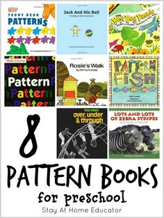 8 crazy good picture books for teaching positional words and patterns in math