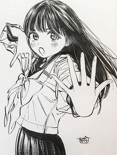 Manga Drawing, Manga Art, Character Illustration, Illustration Art, Character Art, Character Design, Yandere Anime, Cute Cartoon Characters, Anime Sketch