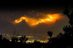 Incendio en Tuscon, Arizona