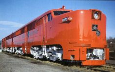 General Electric / Alco PA2 and PB2 demonstrator set. 2,250 HP each unit.