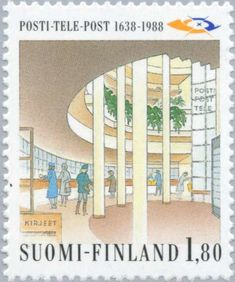 Post Office, Time Travel, Postage Stamps, Finland, Gallery, World, Stamps, Mail Station