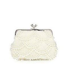 1 Jenny Packham Cream Scallop Pearl Clutch Bag Creamclutchbagsforweddings Bridal