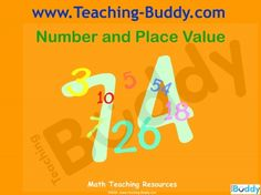 Number and Place Value Grade 4 teaching resources - PowerPoint and worksheets