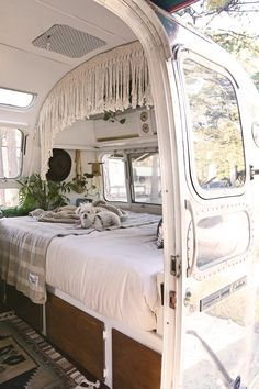 """My husband and I have always been fascinated by tiny living and both share a deep love for travel. We could never settle on where we wanted to move to so we decided, how about a tiny house on wheels?"""