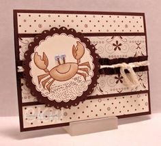 Crabby without my..... by cwilliams - Cards and Paper Crafts at Splitcoaststampers