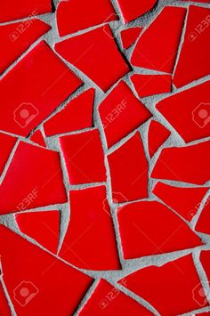 red mosaic tiles - Google Search