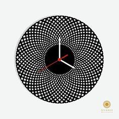 Optical Illusion Wall Clock Design Osaree http://www.amazon.com/dp/B014WF9KBS/ref=cm_sw_r_pi_dp_0dn.vb0K20Q4M