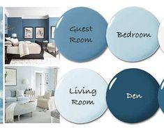 Paint Color Consultation - Home Color Palette - Home Paint Selections Indoor Paint Colors, Behr Paint Colors, Bedroom Paint Colors, Paint Colors For Living Room, Paint Colors For Home, House Colors, Calming Bedroom Colors, Best Bathroom Paint Colors, Best Bedroom Colors