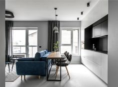 Stylish Apartment For a Young Man by In Caprice - InteriorZine
