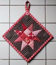 great way to practice free motion quilting