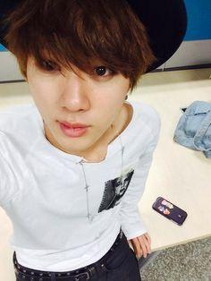 BTS Tweet - Jin (selca) during War of Hormone promo