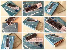 annie scrappt - rund ums Papier und noch viel mehr: Match-Box mit dem Envelope Punch Board