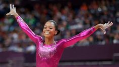Gabby Douglas, America's new Golden Girl! Image via NBC Sports. LOVE this