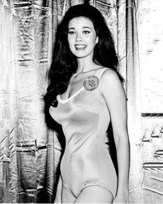 Lynda Carter, Wonder Woman, back in her pageant days