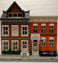 New Brickton buildings | legoman34.geo | Flickr