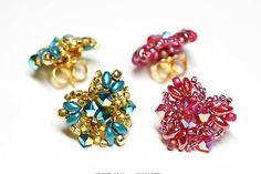 Super Quick Heart Shape Beaded Earring Project #beadwork #beaded #beadedearrings #crafts  #svetlanagallery