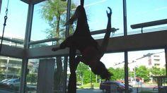 Aerial Silk drop