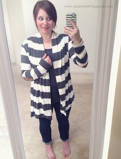Stitch Fix - Layla Striped Elbow Patch Detail Cardigan>>  https://www.stitchfix.com/referral/3082451 #stitchfix #clothing #fashion