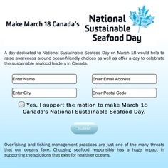 Do your part & support National Sustainable Seafood Day! #ChefsForOceans Ned Bell