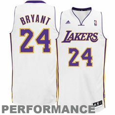 60fe45fcc1c7 adidas Kobe Bryant Los Angeles Lakers Revolution 30 Swingman Performance  Jersey - White Lakers Store