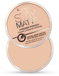 Make it matte with Stay Matte Pressed Powder by Rimmel London. This cult-classic, mattifying powder is a must-have in every makeup addict's kit. Stay Matte Rimmel, Palette Contouring, Le Contouring, Makeup Shop, Makeup Kit, Makeup Products, Beauty Products, Candy Makeup, Beauty Dupes