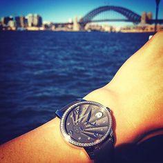 Spotted in Sydney, Australia, the Cat's Eye Power Reserve ! #regram from @avstevgroup #catseye #jewels #diamonds #black #pictureoftheday #grey #australia #sydney #fashion #style #watch #watchgeek #watchporn