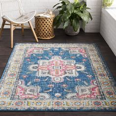 "Vapouria Classic Traditional Area Rug (2'7 x 7'6) (2'7"" x 7'6""), Pink, Size 3' x 7' (Polypropylene, Oriental)"
