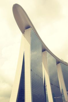 Loved Singapore! This was being built when we were there.  Need to go back to see it Marina Bay Sands.