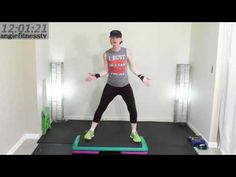 Low Impact Beginner  Step Aerobics Workout  Learn Step Aerobics Beginner Friendly Cardio Routine - YouTube