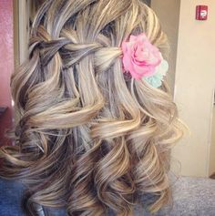 Flower girl hair style, not sure if Caitlynn's hair will be thick enough???