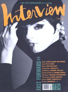 - Interview Magazine cover Liza Minnelli by Michel Haddi / March 1991 / Stylist Isaac Mizrahi Tibor Kalman, Kd Lang, Natasha Richardson, Magazin Covers, Liza Minnelli, Steven Meisel, Magazine Editorial, Andy Warhol, Magazine Design