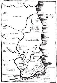 3. Het verhaal speelt zich af in voornamelijk in Clonmel maar ook in andere koninkrijken van Hibernia, ook speelt er een stukje af in Araluen in het begin van het boek. In Hibernia zijn de mensen erg angstig naar allemaal wat er is gebeurd.