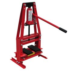 Only Rs6342.36, uk 6-ton Hydraulic Heavy Duty Floor Shop Press high - Tomtop.com