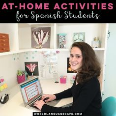 Online Spanish Activities for Students at Home - World Language Cafe