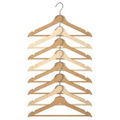 IKEA - BUMERANG, Hanger, natural, for DIY bridesmaid hangers