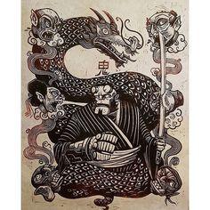 "Killer relief print by @attackpeter   #megaprintmakers   . #AttackThePlanet    #Hellboy  Heads! 18"" x 24"" Hellboy in Japan Linoleum block print  Available at #Megacon this month!  Thank you as always to @artofmm for continuing to inspire my desire to create. #printmaking #japan #japanese #darkhorsecomics  #dragon  #sword #comics #anime #manga #smoke #linocut #woodcut #demon #devil #kappa #marvel #dc #monster #creature #fx #creaturefx #guillermodeltoro #mikemignola  #kaiju #samurai…"