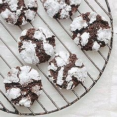 Dark-Chocolate-Ginger Crinkles