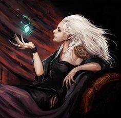 Avernus - Elf Mage Shadowrun