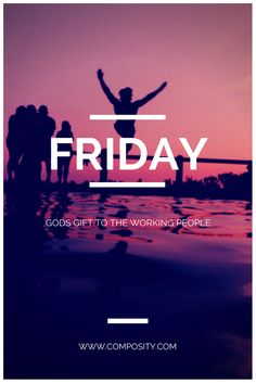 Friday…Gods Gift to the working People! Quote Of The Week, Working People, Friday, God, Tips, Quotes, Movies, Movie Posters, Dios