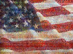 America By Thomas Bower Painting Print