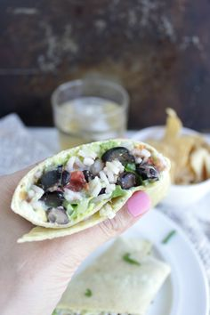 A simple dinner that will satisfy the whole family gluten free Southwestern wraps petitfoodie.com