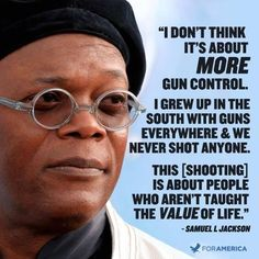 "twitter / ""TheLibRepublic: Samuel L. Jackson on gun control"" - 12 Aug 2014"