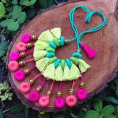 Necklace, hand made with love