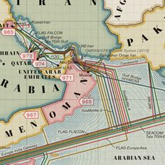 TeleGeographys Free Interactive Submarine Cable Map Is Based On - Us submarine bases map submar