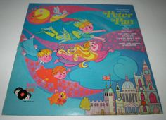 Vintage Childrens Record Peter Pan Album A Musical by jpjcandyland, $8.00