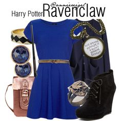 """""""Ravenclaw House"""" by anniereigel on Polyvore"""