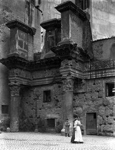 Colonne del Foro di Nerva 1907